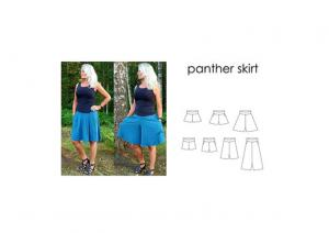 Panther Skirt - Sewingheartdesign