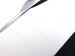 R132 Knit Elastic 110 mm white
