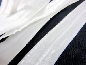 R133 Fold Over Elastic 20 mm white