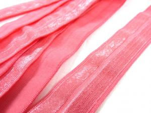 R133 Fold Over Elastic 20 mm pink