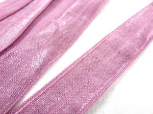R133 Fold Over Elastic 20 mm dusty pink