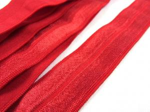 R133 Fold Over Elastic 20 mm red