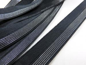 R134 Vikresår 16 mm svart/silver