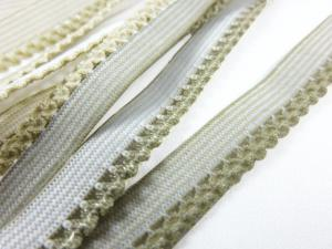 R137 Elastic Lace Trim 10 mm beige