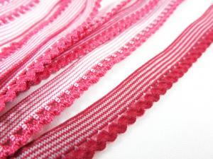 R137 Elastic Lace Trim 10 mm red