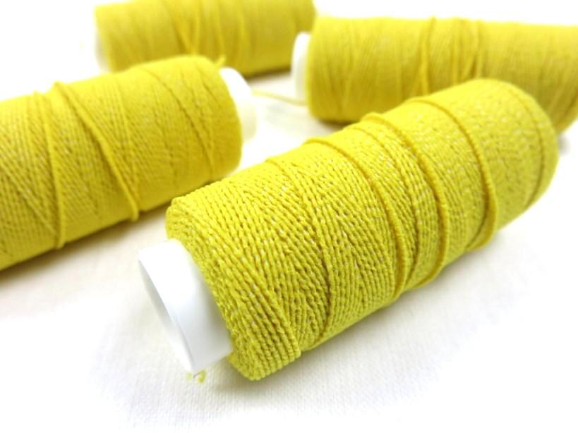 Elastic thread yellow (30 meter)