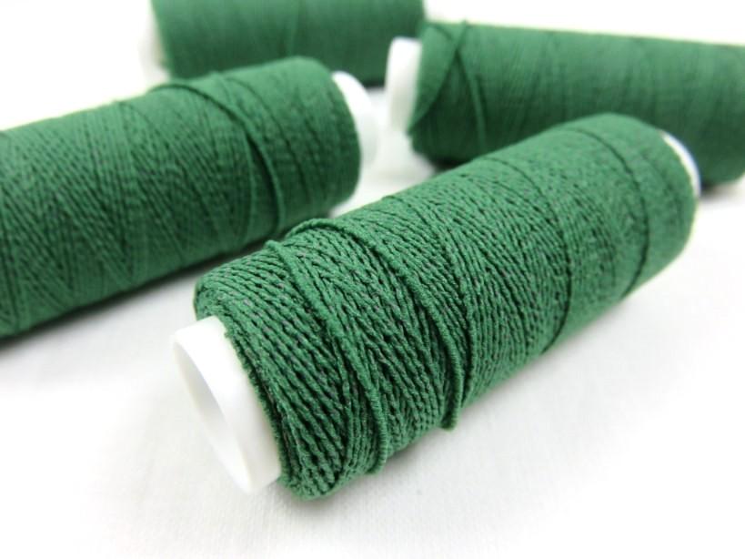 Resårtråd grön (30 meter)