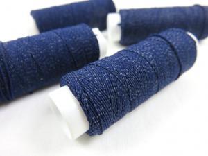 Elastic thread dark blue (30 meter)