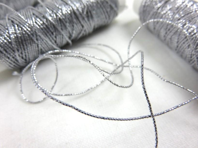 Resårtråd silver (10 meter)