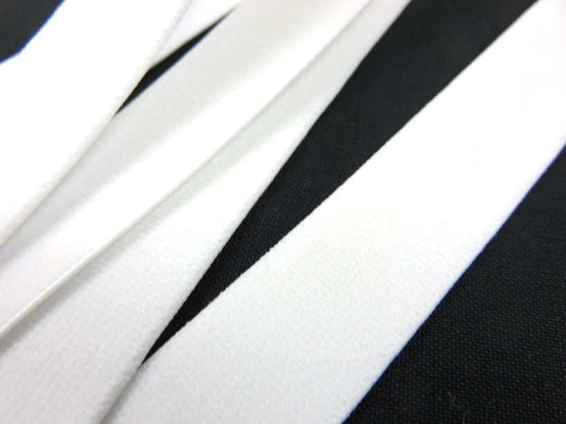 R140 Soft Knit Elastic 20 mm white