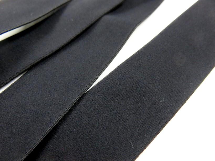 R140 Soft Knit Elastic 30 mm black