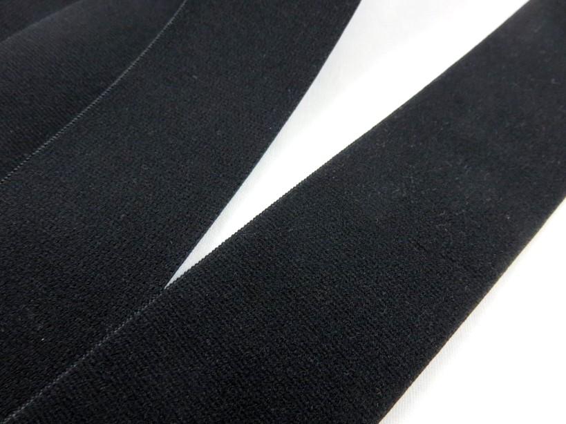 R140 Resår mjuk 40 mm svart