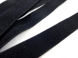 Bra strap elastic 10 mm black
