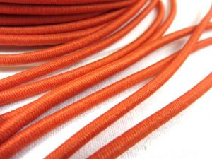 Elastic cord 3 mm orange