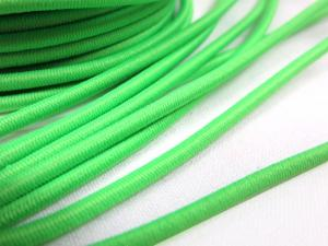 Elastic cord 3 mm neon green