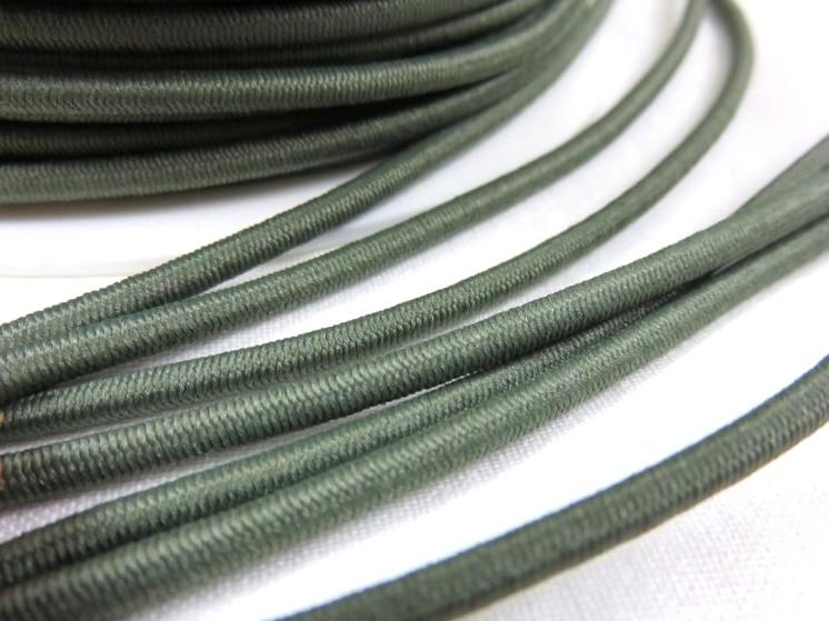 Rundresår olivgrön 3 mm