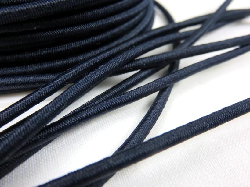 Rundresår mörkblå 3 mm