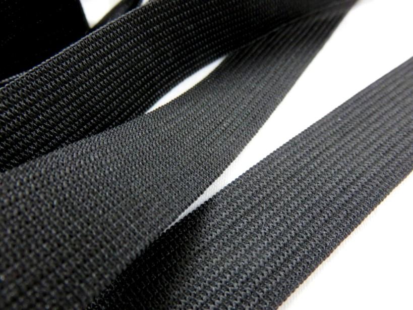 R247 Resår 20 mm svart