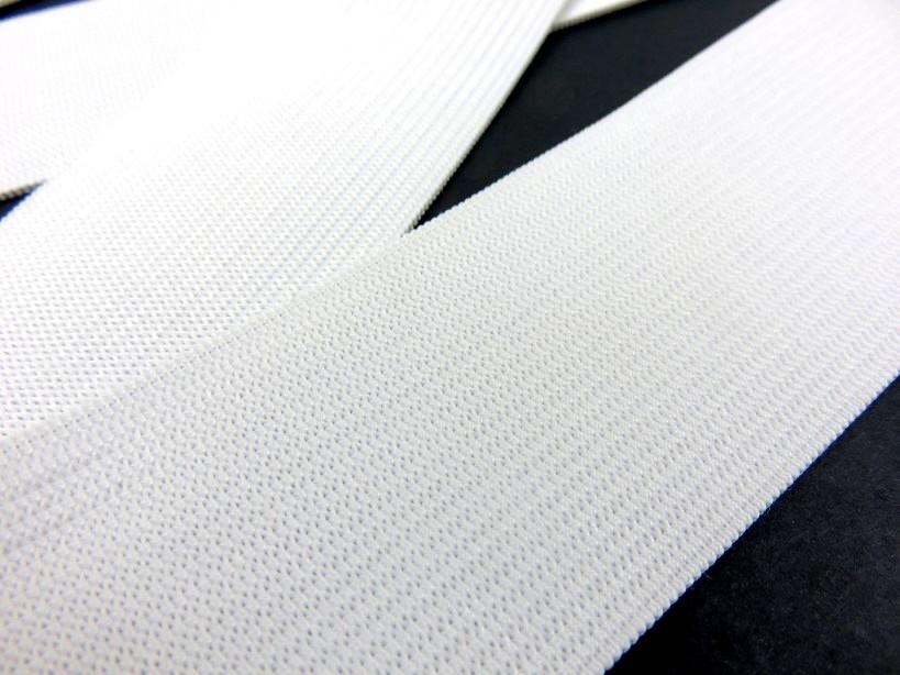 R247 Knit Elastic 40 mm white