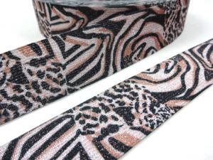 R260 Resår 35 mm Glitter Zebra