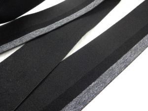 R295 Resår rand 40 mm svart