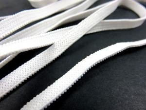 R400 Knit Elastic 5 mm white (10 m)