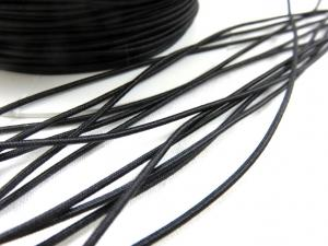 Elastic cord 1,5 mm black