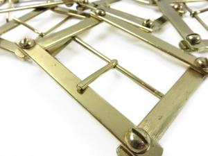 S038 Bar Buckle Gold (2nd choice)