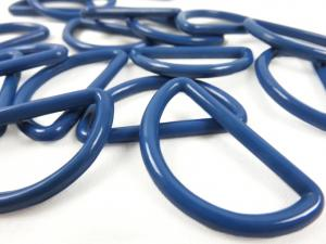 S050 Plastic D-ring 30 mm medium blue