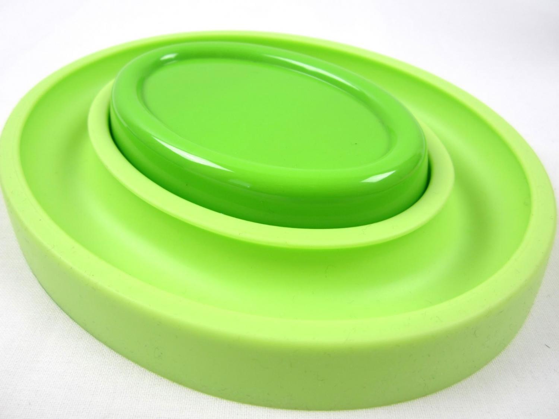 Magnetisk nålkopp med O-ring grön