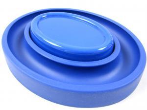 Magnetisk nålkopp med O-ring blå
