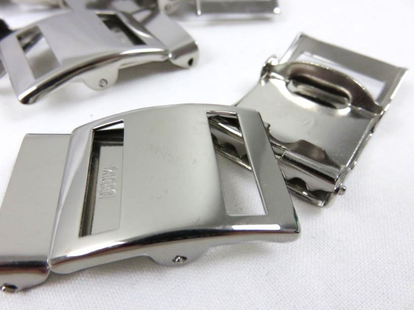 Military belt buckle 25 mm silver (2nd choice)