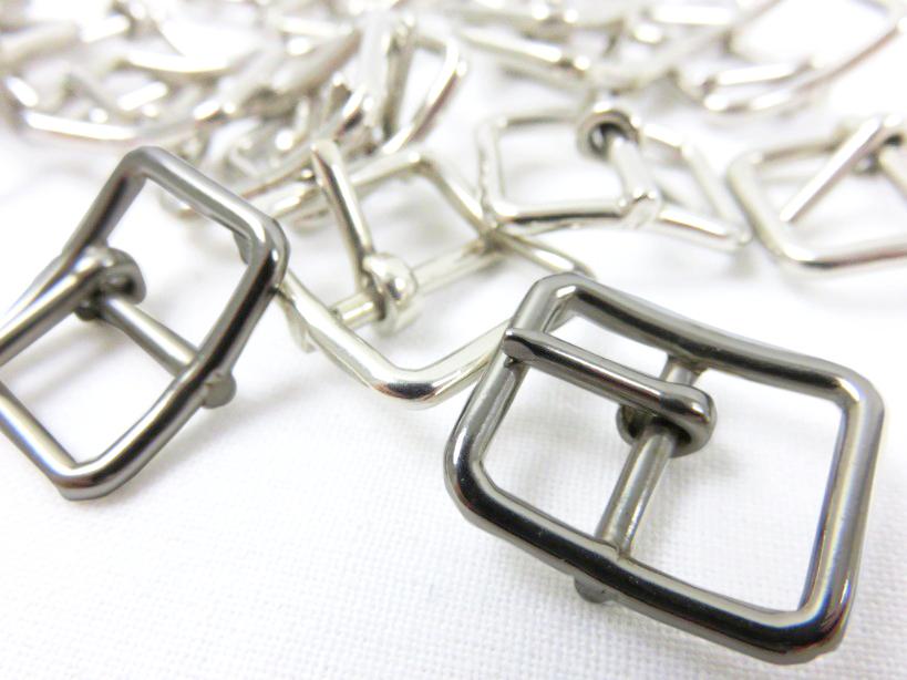 Spänne med dorn 15 mm silver