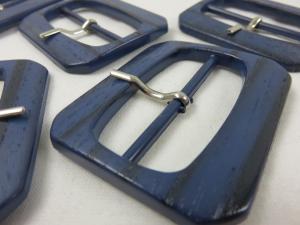 S160 Plastspänne blått med dorn