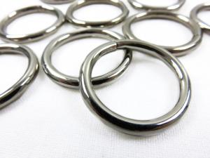 Ring silver metall 20 mm