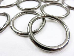 Ring silver metall 30 mm