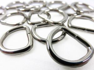 Metal 14 mm D-ring