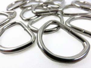 Metal 20 mm D-ring