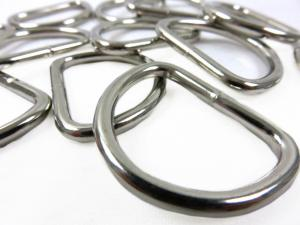 Metal 30 mm D-ring