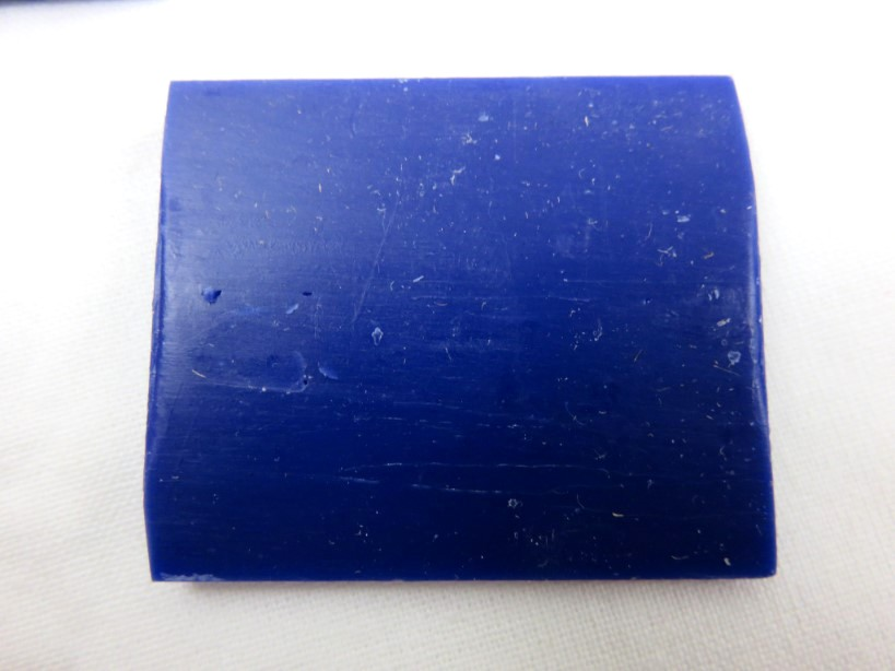 Vaxkrita blå