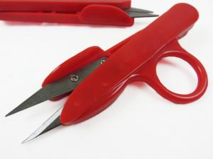 Plastic Thread Snippers 12 cm red