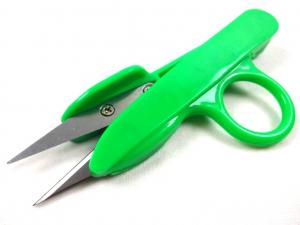 S184 Plastic Thread Snippers 12 cm green