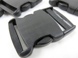 Klickspänne 40 mm svart