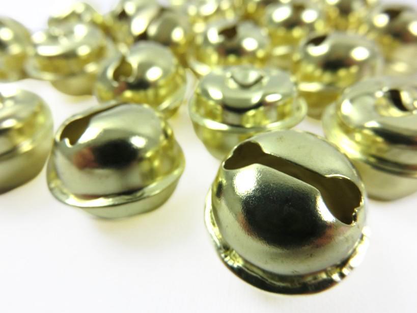 S198 Bjällra 19 mm guldfärgad