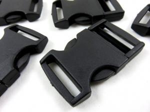 klickspänne 30 mm svart