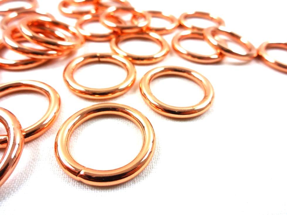 S250 O-ring 15 mm roséguld