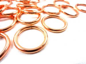 S250 O-ring 20 mm roséguld