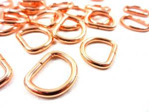 S251 D-ring 16 mm roséguld