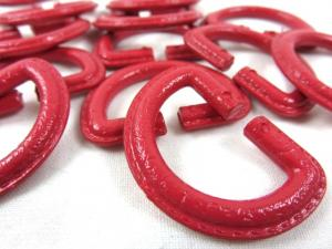S363 D-ring Plastic 25 mm red