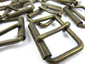 Heel bar buckle 30 mm antique gold